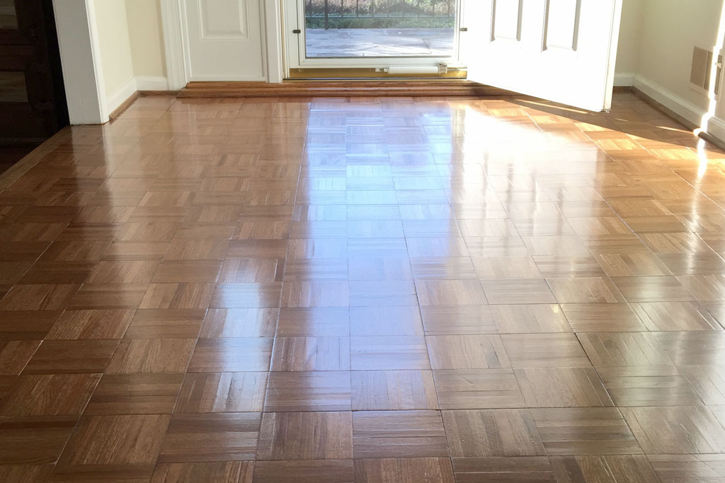 Parquet restoration Wellington VA