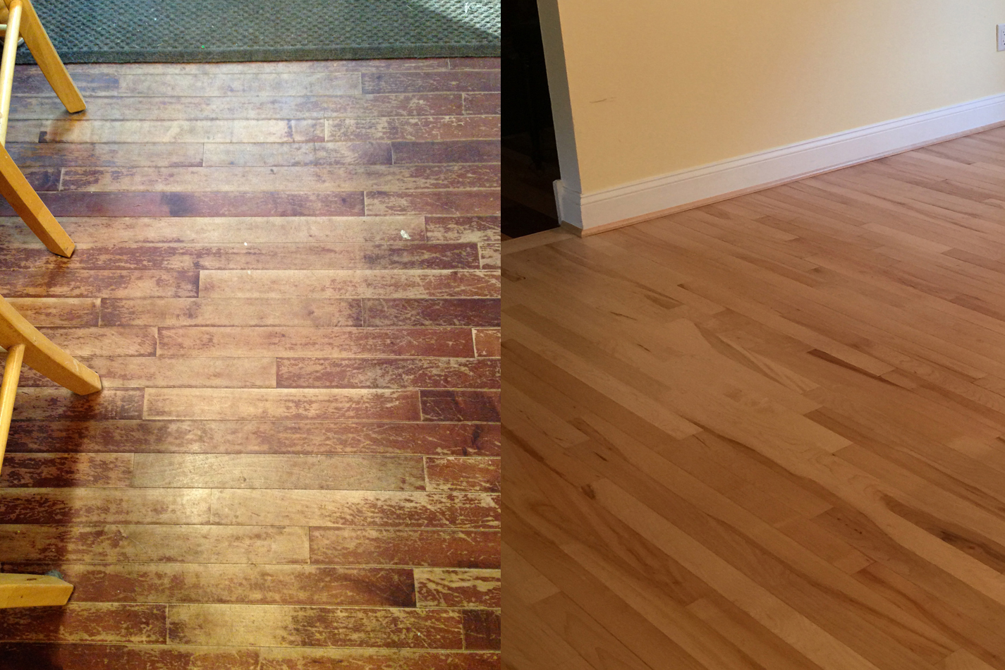 Hardwood Floor Repairs and Refinishing Sterling